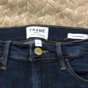 Frame Le high skinny 27